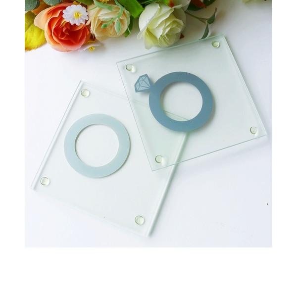 """""""Tea Time"""" Glass Tea Party Favors (Set of 2 pieces)"""