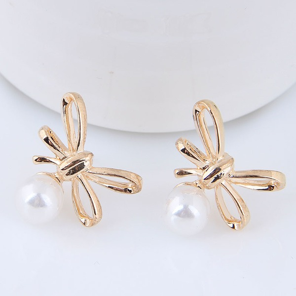 Beautiful Alloy Imitation Pearls With Imitation Pearl Women's Fashion Earrings