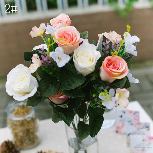 Elegant Cloth Flower (Sold in a single piece)
