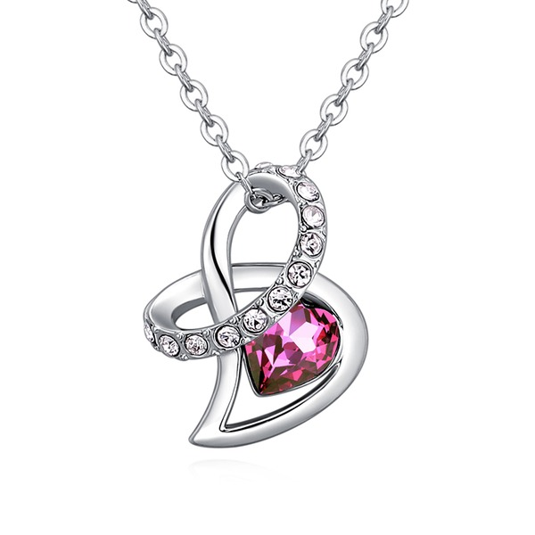 Beautiful Alloy Crystal Women's Fashion Necklace (Sold in a single piece)