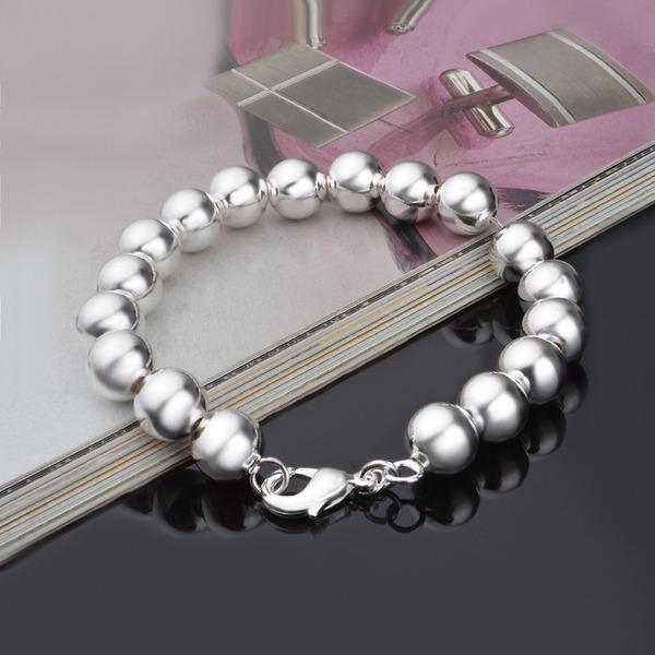 Mode Argent plaqué Cuivre Femmes Bracelets de mode (Vendu dans une seule pièce)