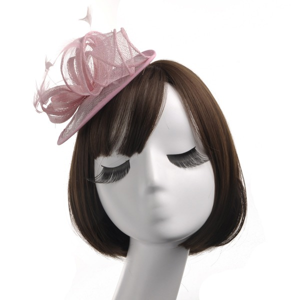 Ladies' Beautiful/Gorgeous/Fashion/Special Organza With Feather Fascinators