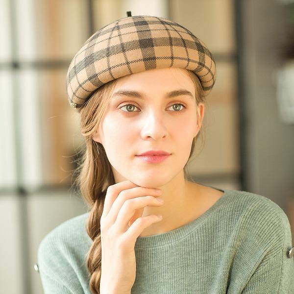 Señoras' Hermoso/Maravilloso/Estilo clásico Madera Boina Sombrero