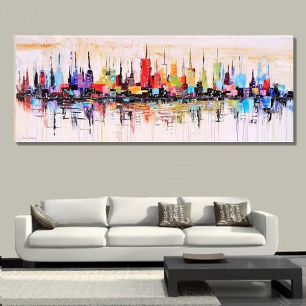Modern / hedendaags canvas Huisdecoratie (Verkocht in één stuk)