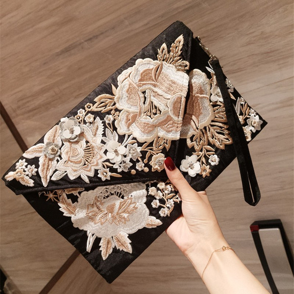 Polyester Clutches/Bridal Purse/Evening Bags