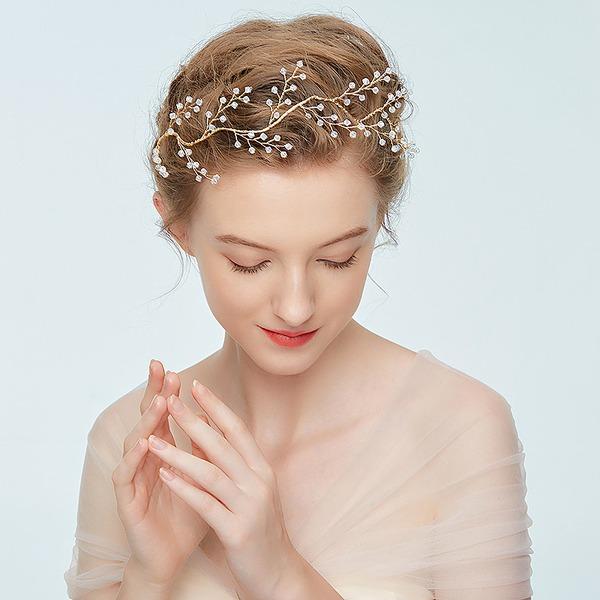 Damer Handmade Legering Pannebånd med Rhinestone/Venetianske Perle (Selges i ett stykke)