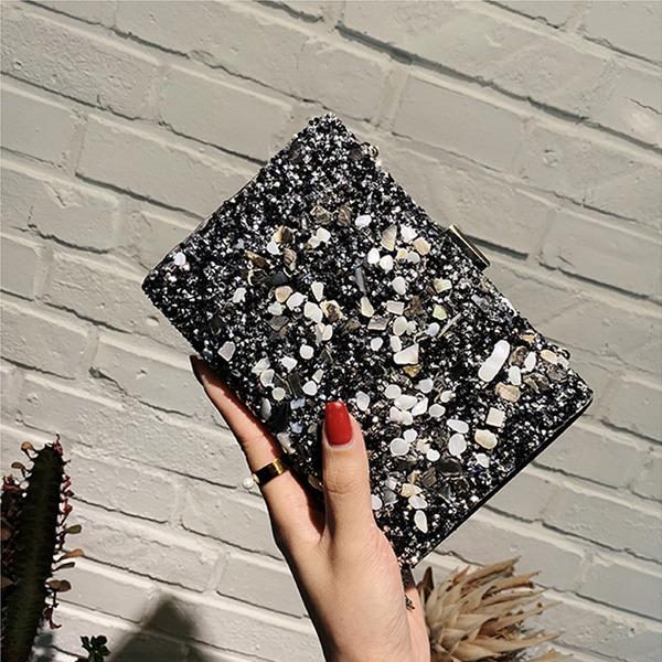 Gorgeous/Unique PVC Clutches/Satchel/Bridal Purse/Evening Bags