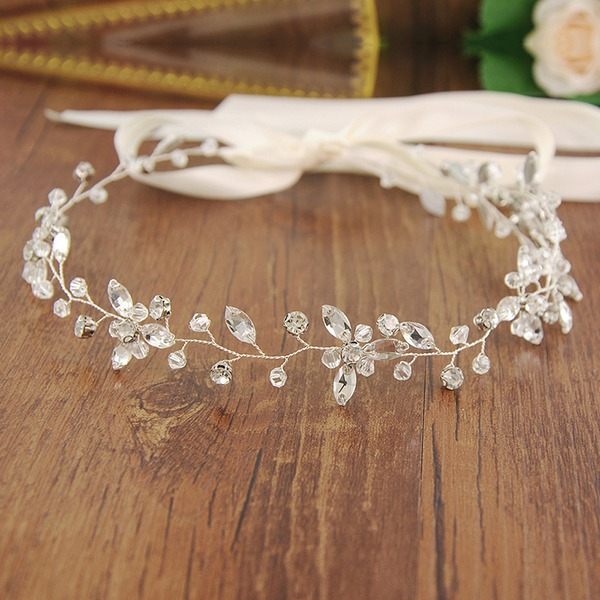 Beautiful Alloy Headbands With Crystal (Sold in single piece)
