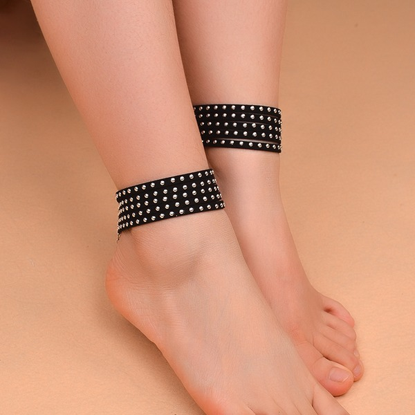 Velvet Foot Jewellery (Sold in a single piece)