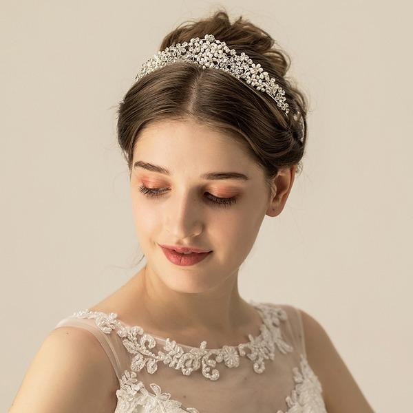 Abbigliamento donna Bella lega/Perle di acqua dolce Diademi (Venduto in un unico pezzo)