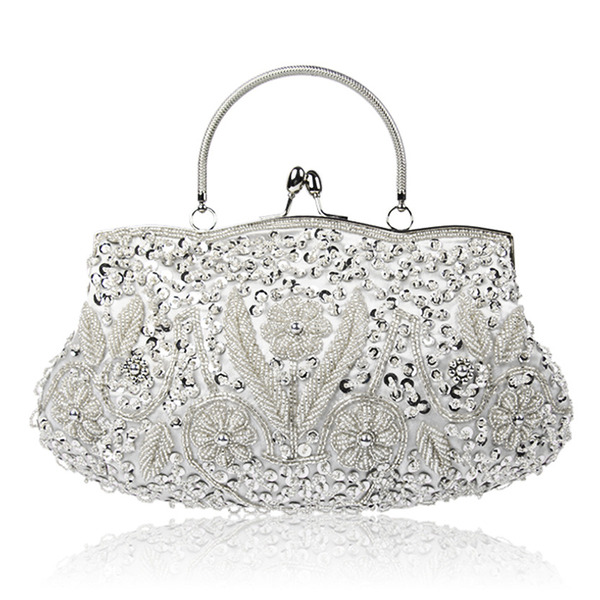 Beading Top Handle Bags/Bridal Purse/Evening Bags