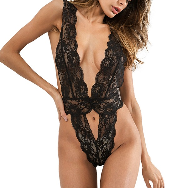 Lace Feminine/Fashion Sleepwear