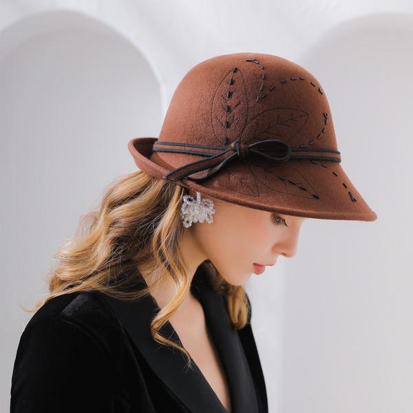 Ladies' Fashion/Pretty/Charming Wool Floppy Hat