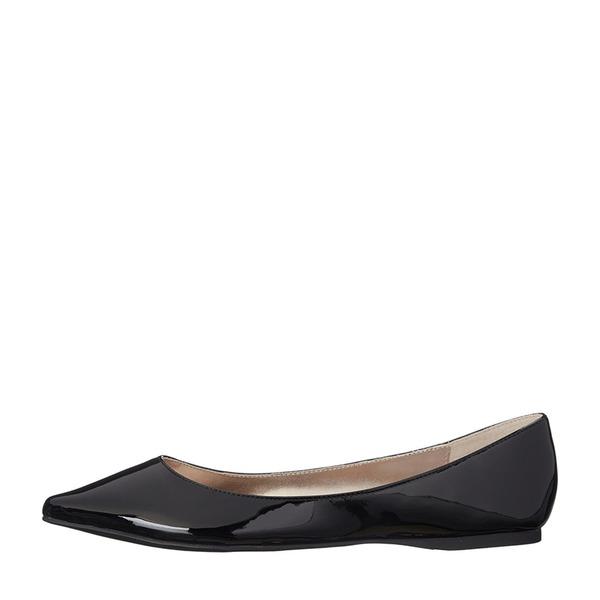 Kvinnor Lackskinn Flat Heel Platta Skor / Fritidsskor Stängt Toe med Andra skor