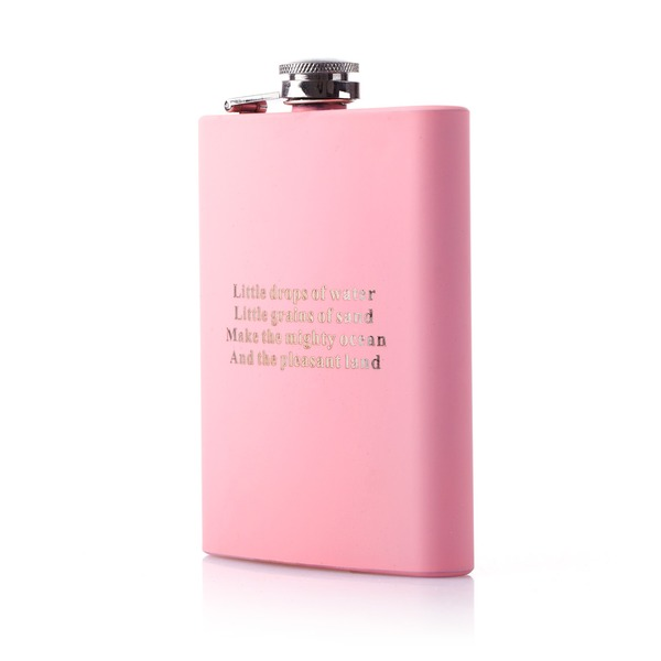 Personalized Simple Stainless Steel Flask