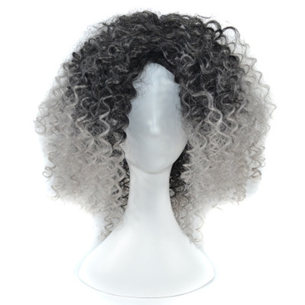 Kinky Curly Synthétique Perruques synthétiques 250g