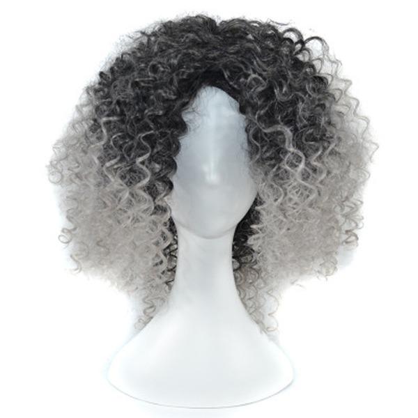 Kinky Curly Sintetico Parrucche sintetiche 250g
