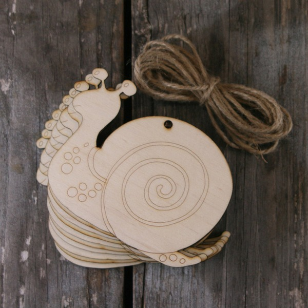 Simple/Classic/Beautiful Nice/Lovely Wooden Wedding Ornaments (set of 10)