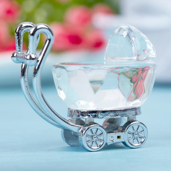 Baby Carriage Zinc Alloy/Crystal Keepsake