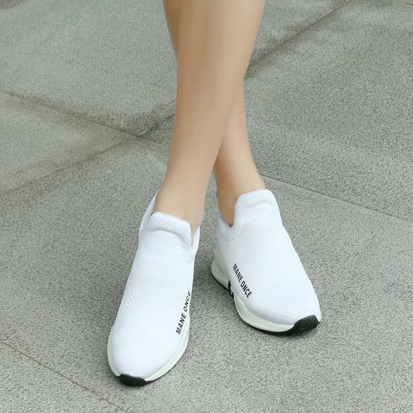 Женщины меш Сникерсы и спортивная обувь