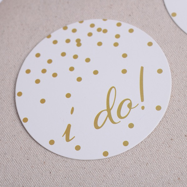 Round High quality paper Coaster (Set of 12)