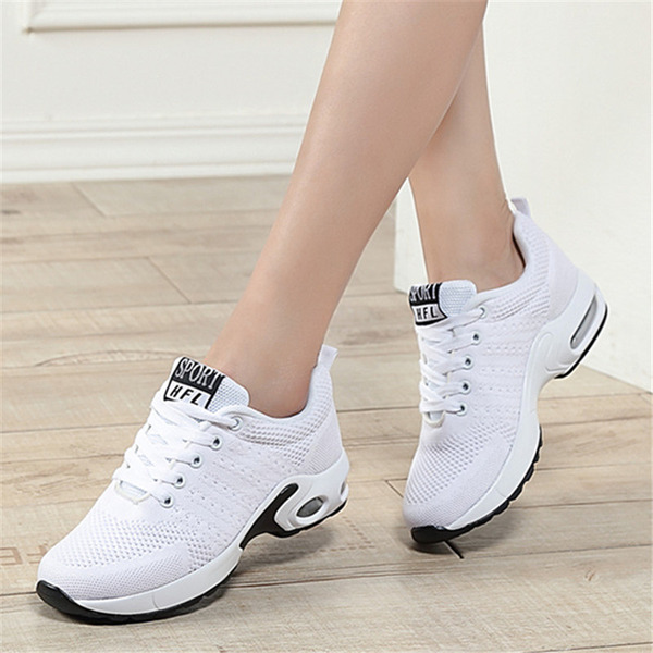 Donna Tessuto Sneakers Scarpe da Ginnastica Scarpe da ballo