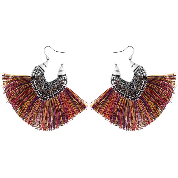 Beautiful Alloy With Tassels Women's Fashion Earrings