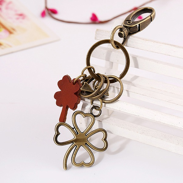 Classic/Lovely/Simple Flower Design Alloy/Iron Keychains