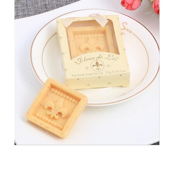 Clássico/Lovely Quadrado Sabonetes (Vendido em um único)
