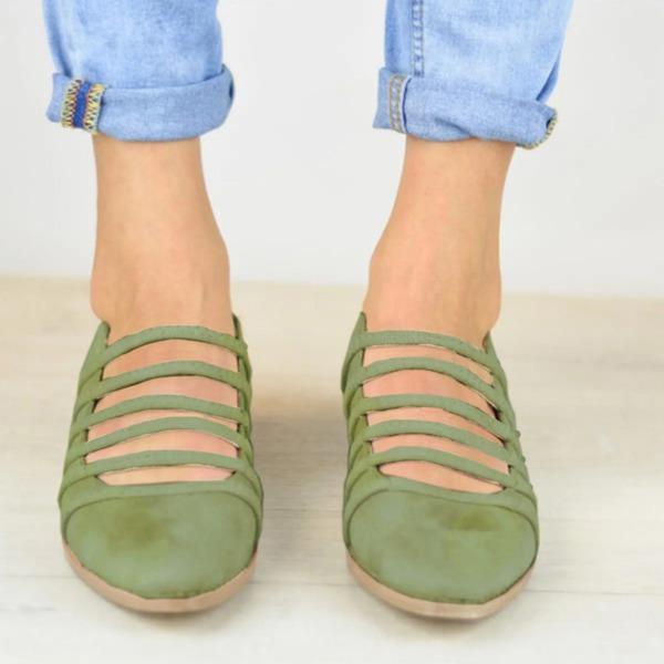 Женщины Замша Устойчивый каблук На каблуках с Другие обувь