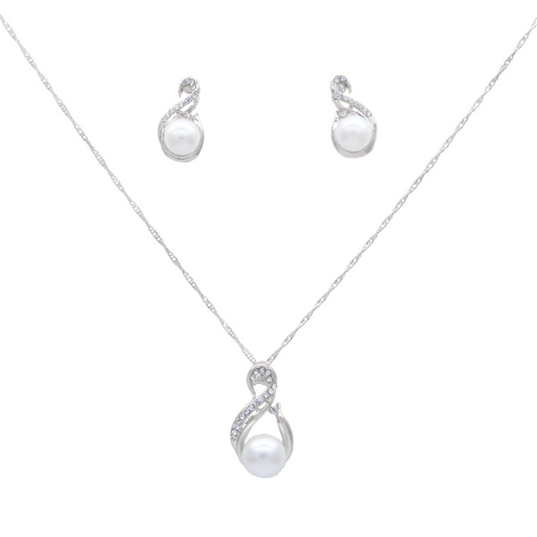 Ladies' Elegant Alloy/Copper Jewelry Sets For Bride