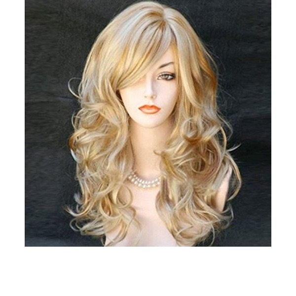 Water Wave Synthetic Hair Synthetic Wigs 230g