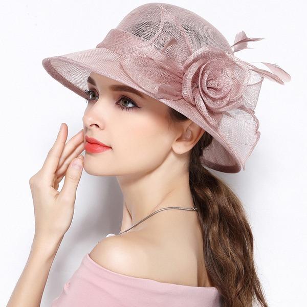 Damen Exquisiten/Anhänger/Fantasie/Romantisch/Künstlerische Batist mit Blume Beanie/Slouchy