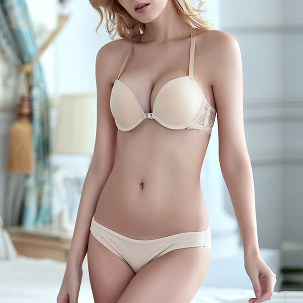 Klassiek Chinlon/Nylon Beugel Beha/Lingerie Set