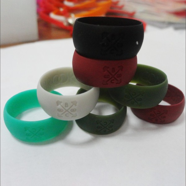 moderne stil Silikon Fasjonable Resin Fashion Rings Gaver