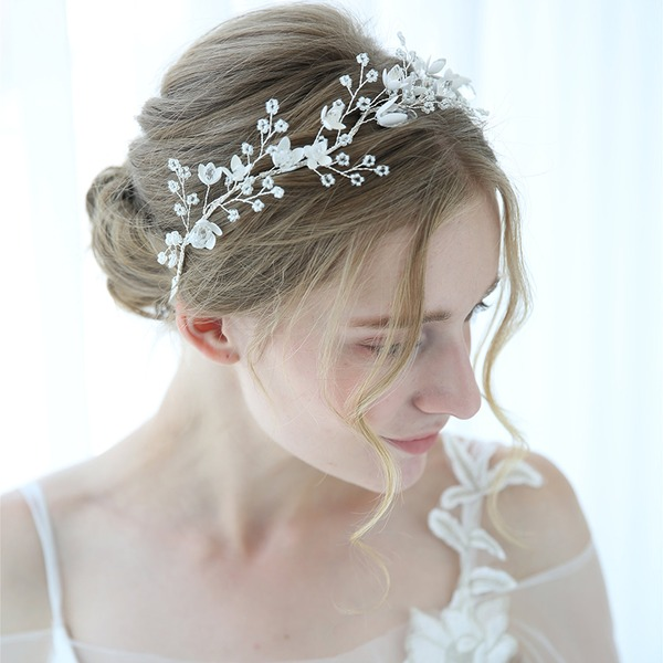 Klassisk stil Kristall Pannband med Kristall (Säljs i ett enda stycke)