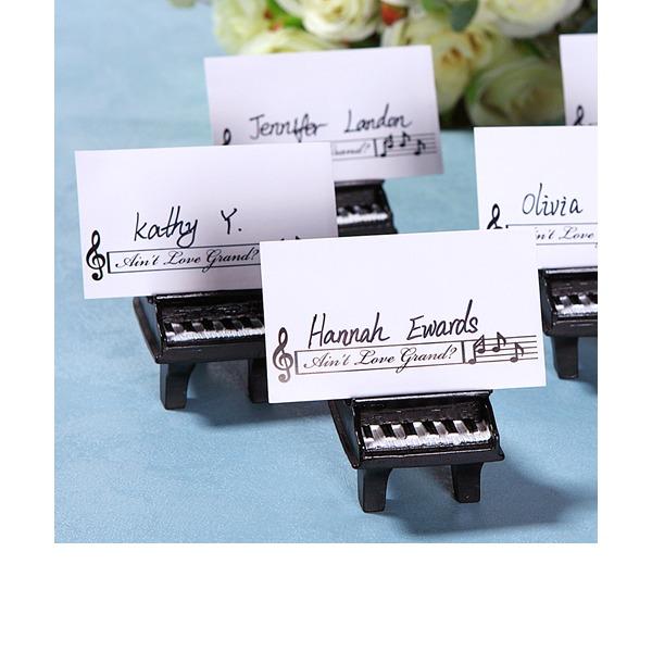 Dejlig Elefant Harpiks Bordkortholdere/Kortholderen (Solgt i en enkelt)