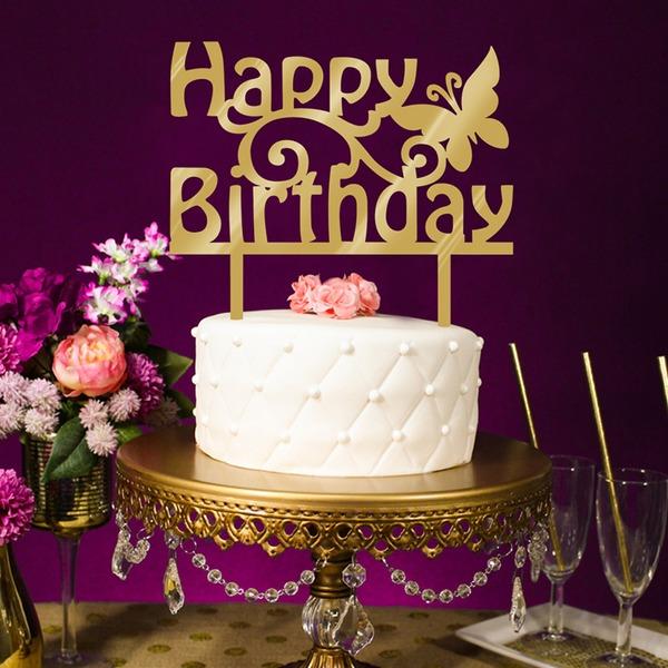 Doğum günün kutlu olsun Akrilik Kek Topper