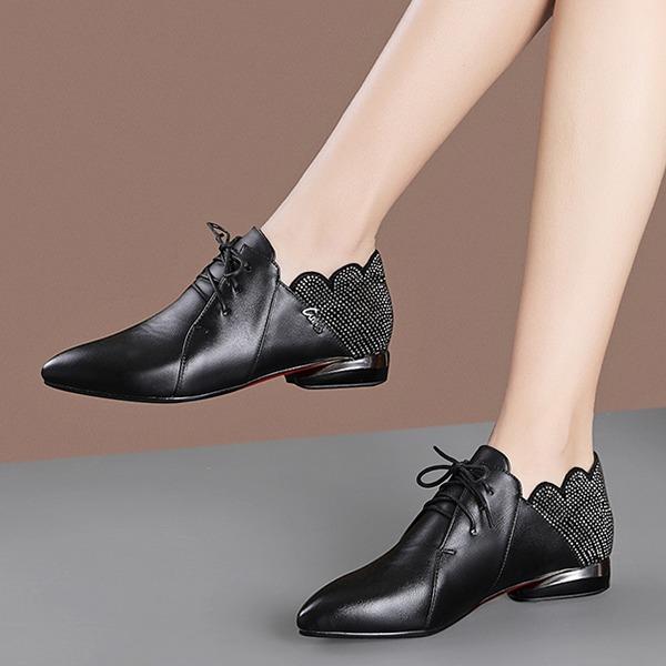 Donna PU Tacco basso Ballerine أحذية