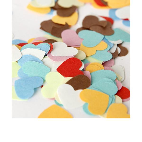 Projeto do coração Papel Little Pétalas Papel Confetti (Conjunto de 350)
