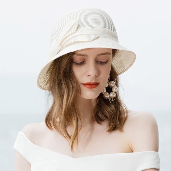 Dames Beau/Glamour/Qualité Polyester Chapeaux de plage / soleil