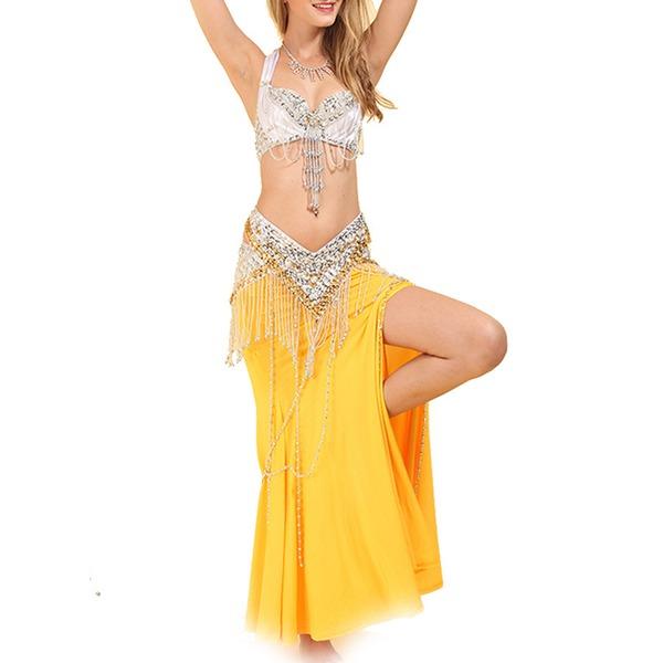 Donna Abbigliamento danza Poliestere Danza del ventre Completi