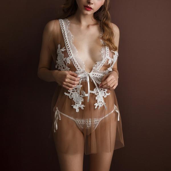 Tulle Bridal/Feminine Sleepwear Sets