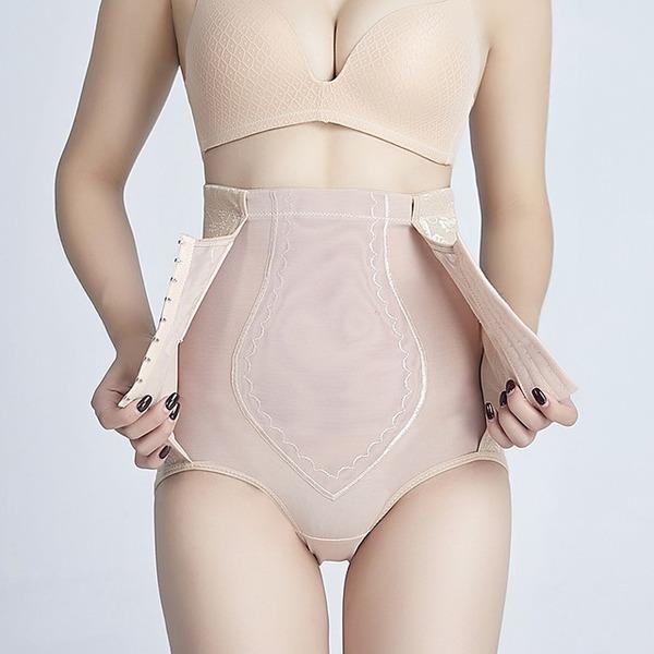 Kvinnor Klassisk stil/Tillfällig polyester Andningsförmåga Midjebandspelare Shapewear