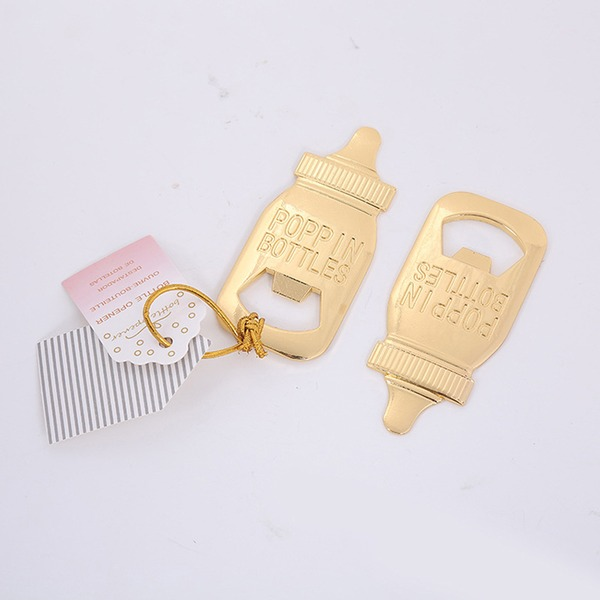 Lovely Alloy Bottle Openers (Set of 4)