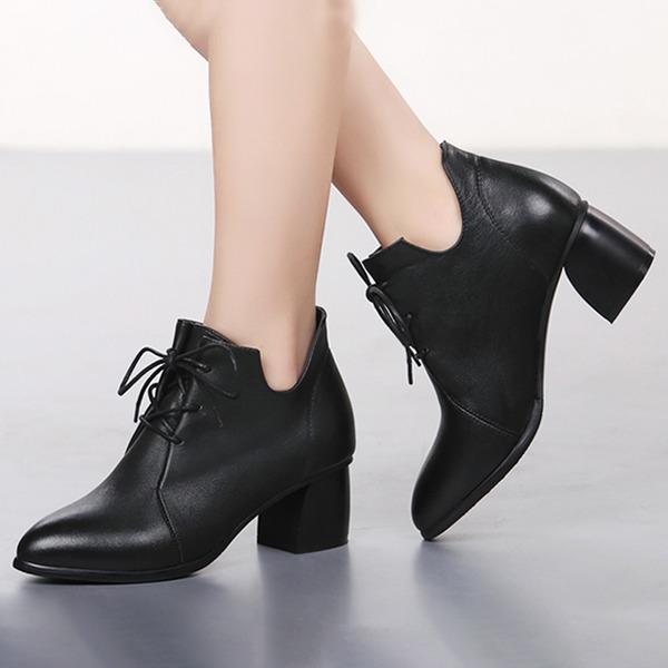 Mulheres Couro verdadeiro Moderno Sapatos de dança