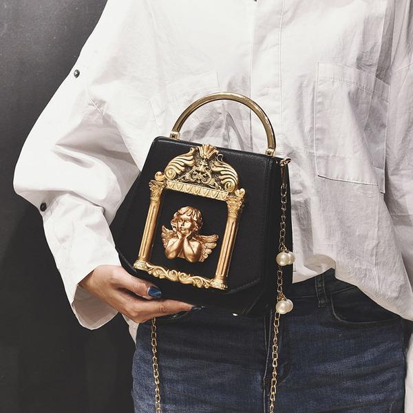 Elegant PU Handtaschen/Oberer Griff