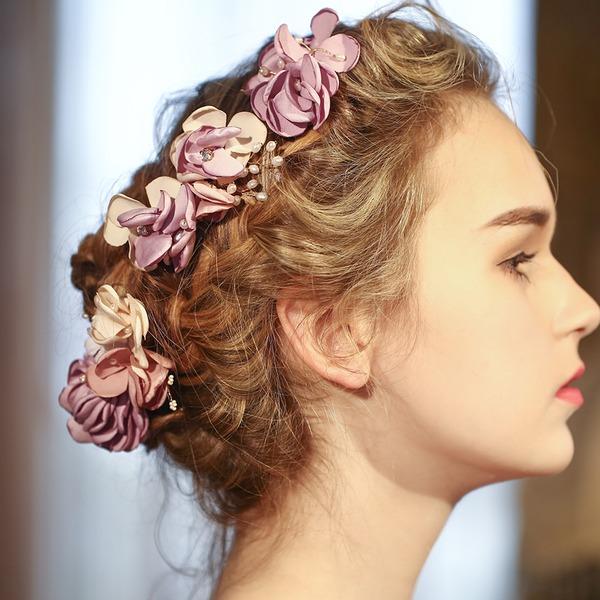 Incrível Tecidos Flores & penas