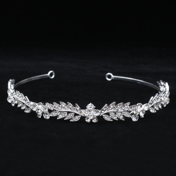 Damer Gorgeous Strass/Legering Tiaror med Strass