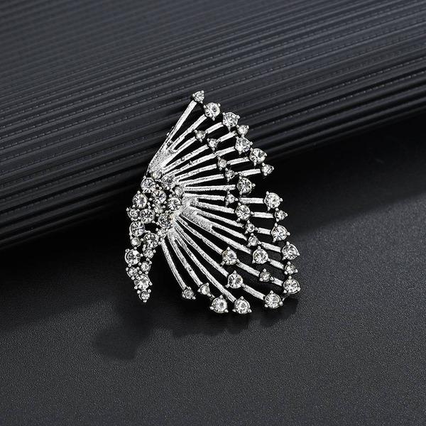 Style Vintage Alliage Strass Femmes Boucles d'oreille de mode (Vendu dans une seule pièce)